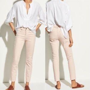 Vince Skinny Crop Pink Jeans